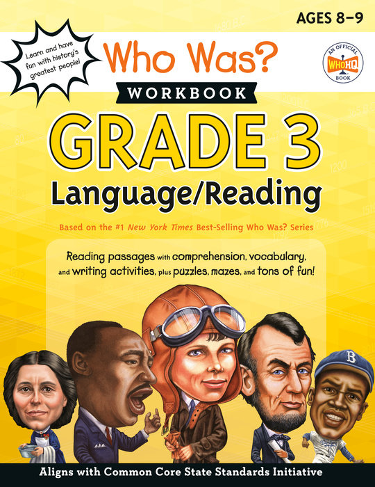 Who Was? Workbook: Grade 3 Language/Reading