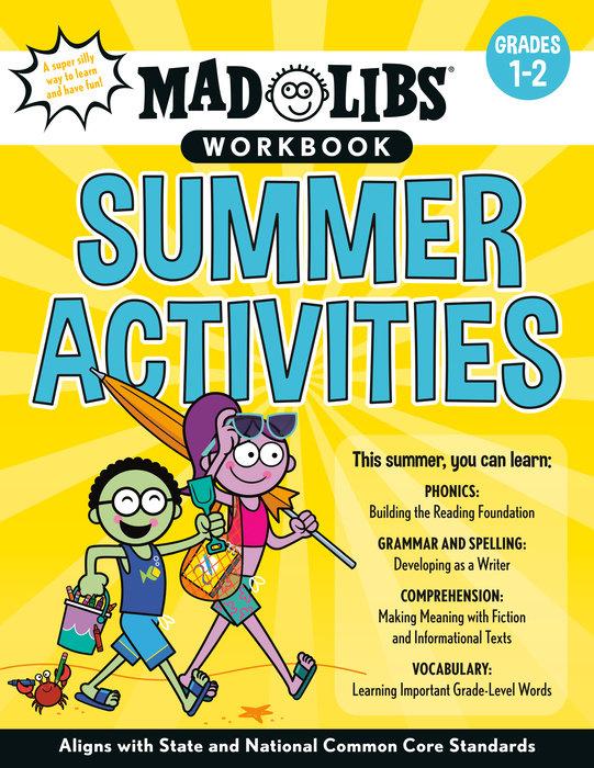 Mad Libs Workbook: Summer Activities