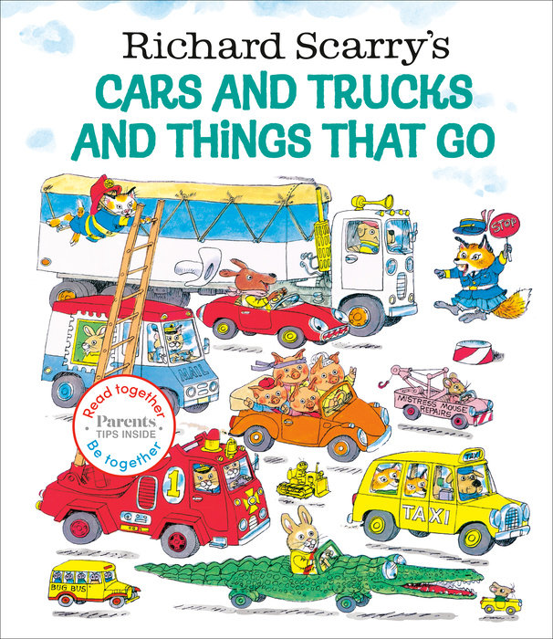 Richard Scarry's Cars and Trucks and Things That Go: Read Together Edition
