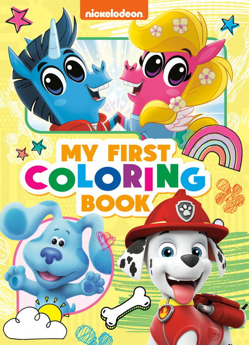 Nickelodeon: My First Coloring Book (Nickelodeon)