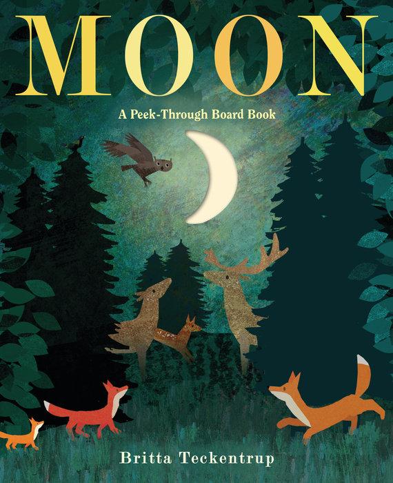 Moon: A Peek-Through Board Book