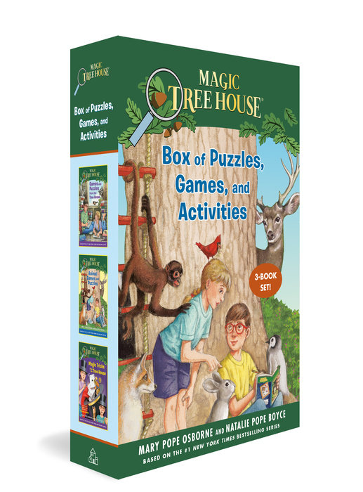 Magic Tree House Box of Puzzles, Games, and Activities (3 Book Set)