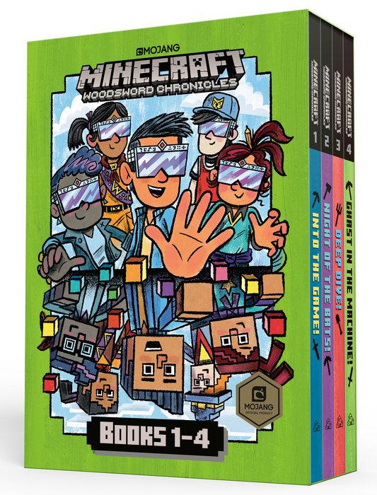 Minecraft Woodsword Chronicles Box Set Books 1-4 (Minecraft)