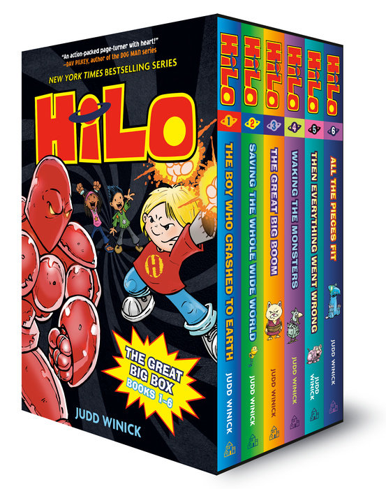 Hilo: The Great Big Box (Books 1-6)