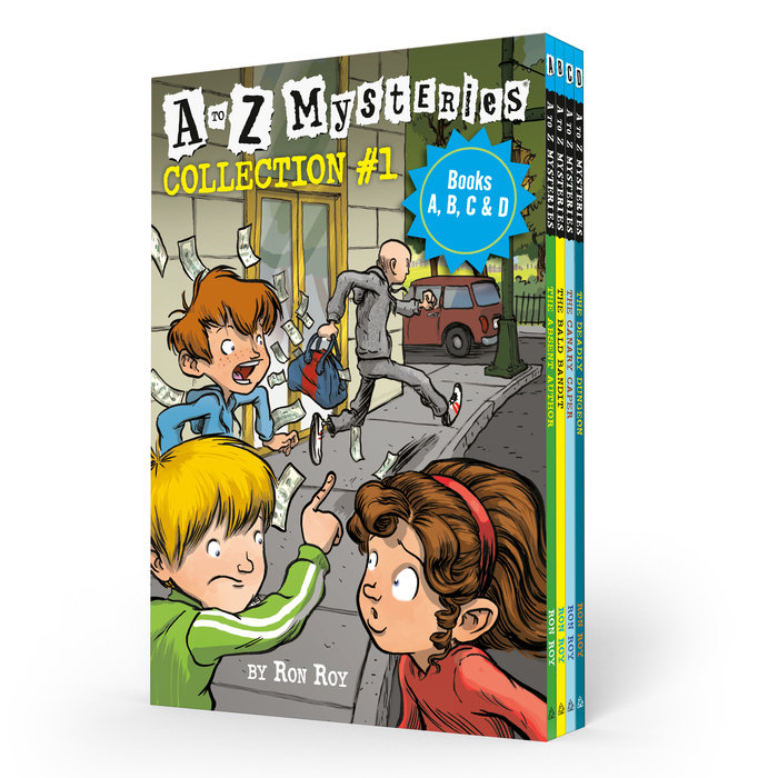 A to Z Mysteries Boxed Set Collection #1 (Books A, B, C, & D)