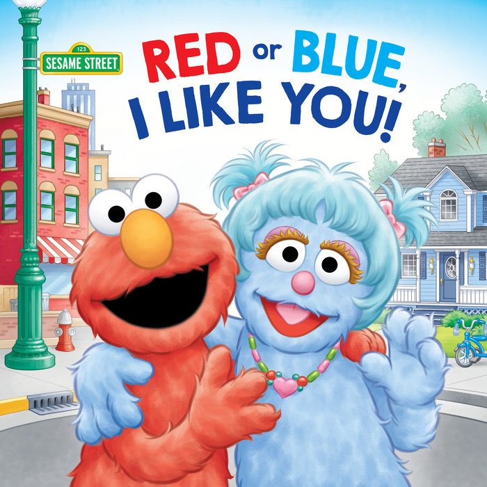 Red or Blue, I Like You! (Sesame Street)