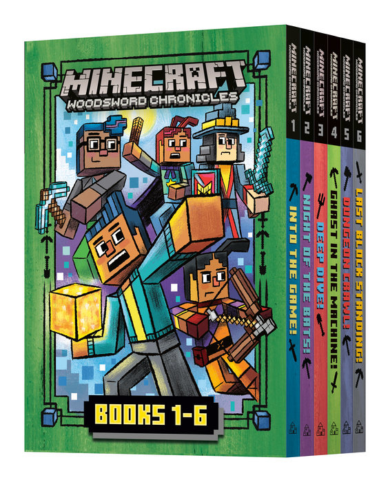 Minecraft Woodsword Chronicles: The Complete Series: Books 1-6 (Minecraft  Woosdword Chronicles)