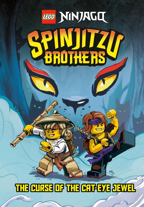 Spinjitzu Brothers #1: The Curse of the Cat-Eye Jewel (LEGO Ninjago)