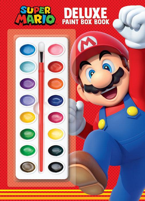 Super Mario Deluxe Paint Box Book (Nintendo)