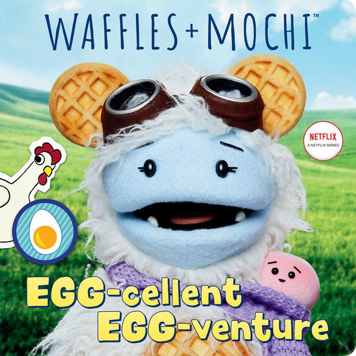 Egg-cellent Egg-venture (Waffles + Mochi)