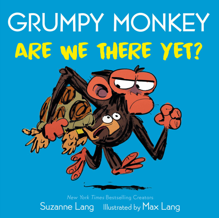 Grumpy Monkey Are We There Yet?
