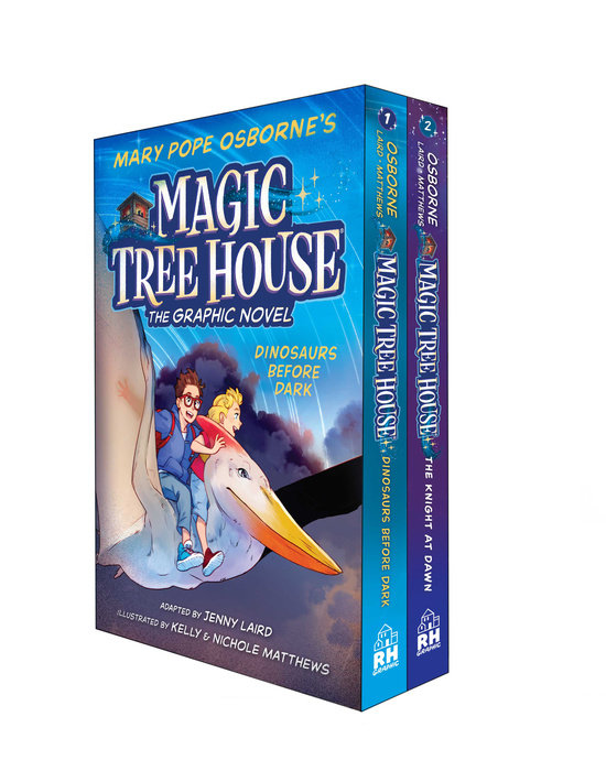 Magic Tree House Graphic Novels 1-2 Boxed Set