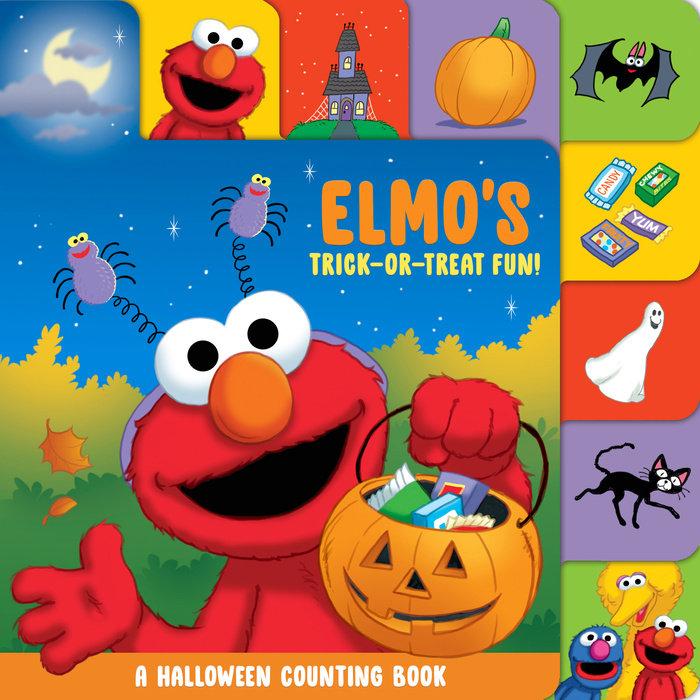 Elmo's Trick-or-Treat Fun!: A Halloween Counting Book (Sesame Street)