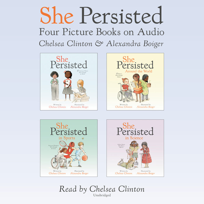 She Persisted: Four Picture Books on Audio