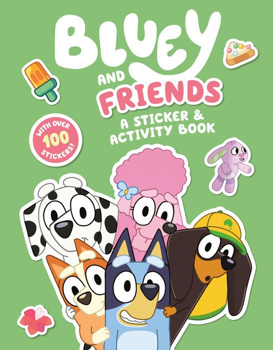 Bluey and Friends: A Sticker & Activity Book