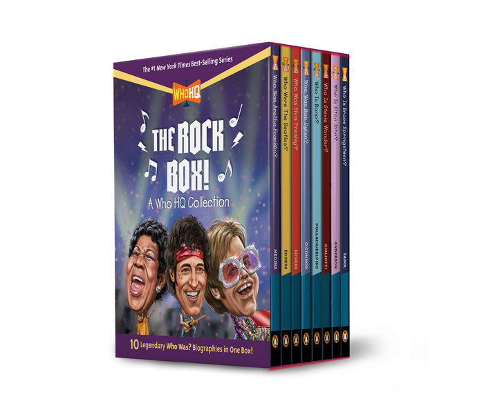The Rock Box!: A Who HQ Collection