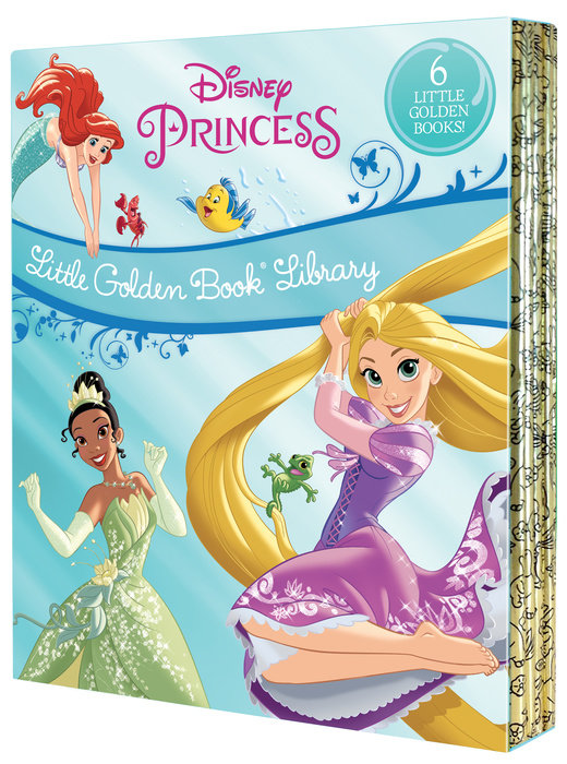 Disney Princess Little Golden Book Library (Disney Princess)