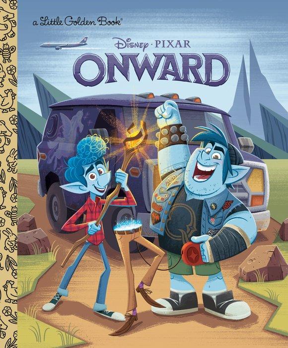 Onward Little Golden Book (Disney/Pixar Onward)