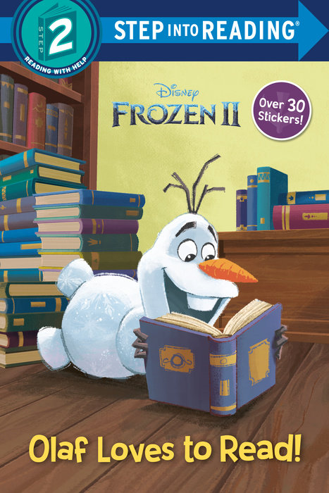Olaf Loves to Read! (Disney Frozen 2)