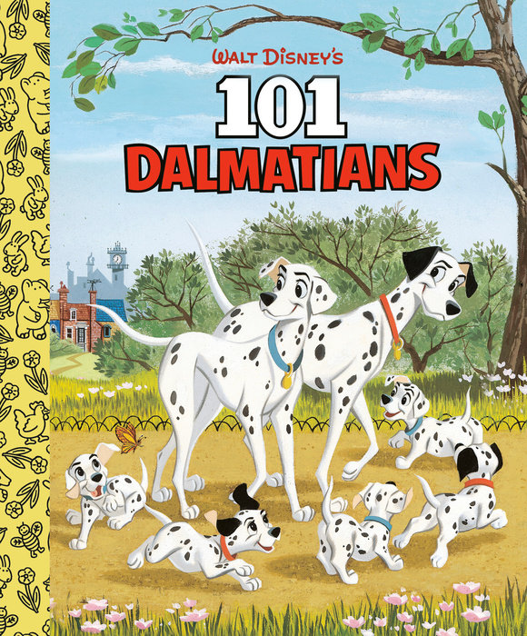 Walt Disney's 101 Dalmatians Little Golden Board Book (Disney 101 Dalmatians)