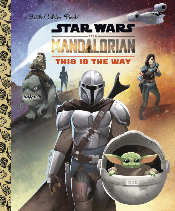 The Mandalorian Little Golden Book (Star Wars)