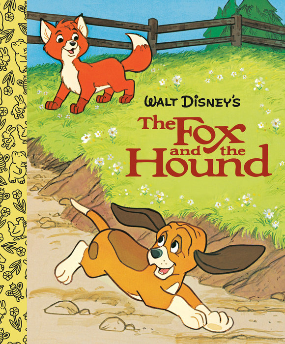 The Fox and the Hound Little Golden Board Book (Disney Classic)