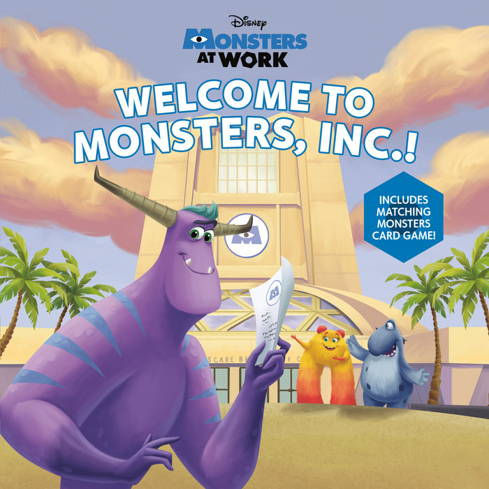Welcome to Monsters, Inc.! (Disney Monsters at Work)