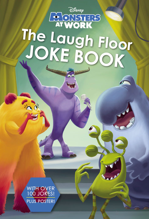 The Laugh Floor Joke Book (Disney Monsters at Work)