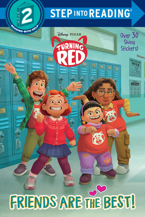 Disney/Pixar Turning Red Step into Reading, Step 2