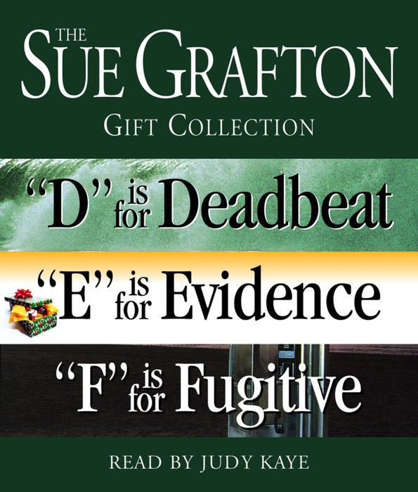 Sue Grafton DEF Gift Collection