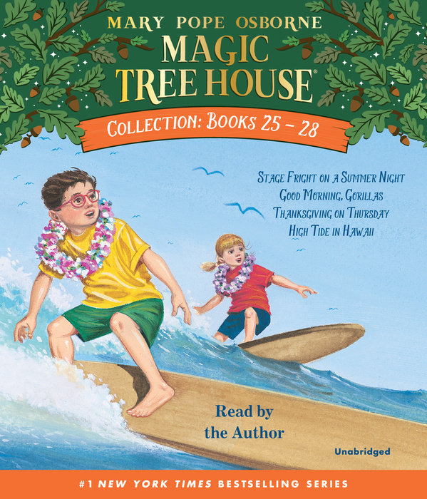 Magic Tree House Collection Volume 7: Books 25-28