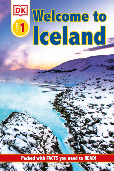 DK Reader Level 1: Welcome To Iceland