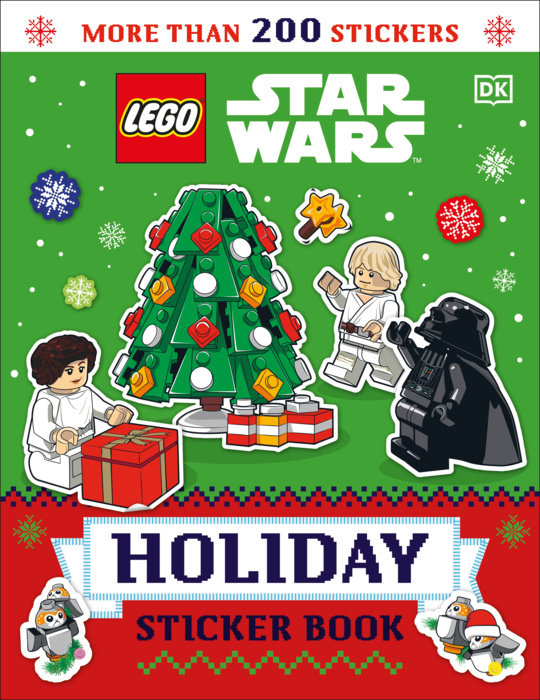 LEGO Star Wars Holiday Sticker Book