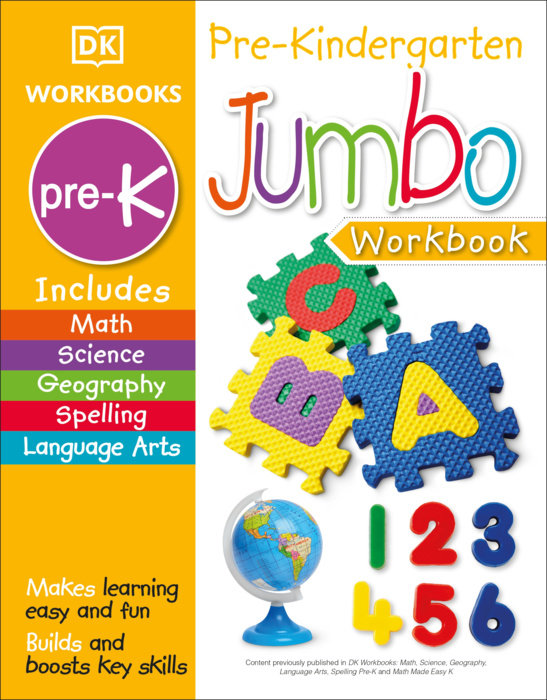 Jumbo Pre Kindergarten Workbook