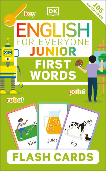 English for Everyone Junior First English Words Flash Cards