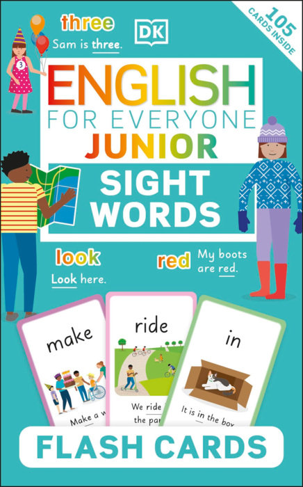 English for Everyone Junior Sight Words Flash Cards
