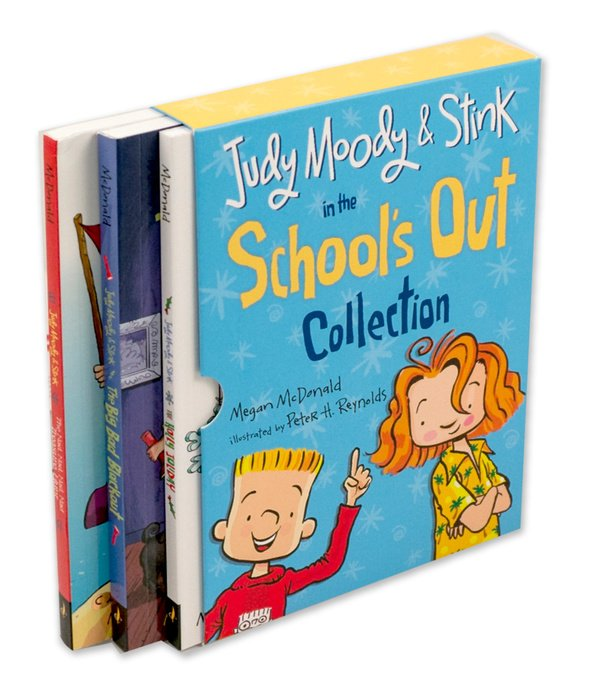 Judy Moody and Stink in the School's Out Collection