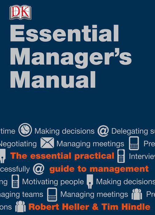 9780789435194 dk essential managers the essential manager's manual by robert