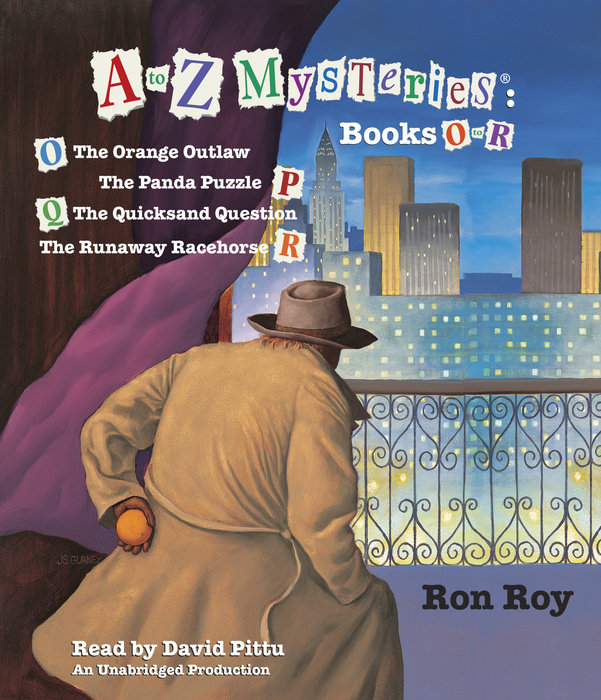 A to Z Mysteries: Books O-R