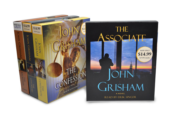 John Grisham CD Audiobook Bundle #2