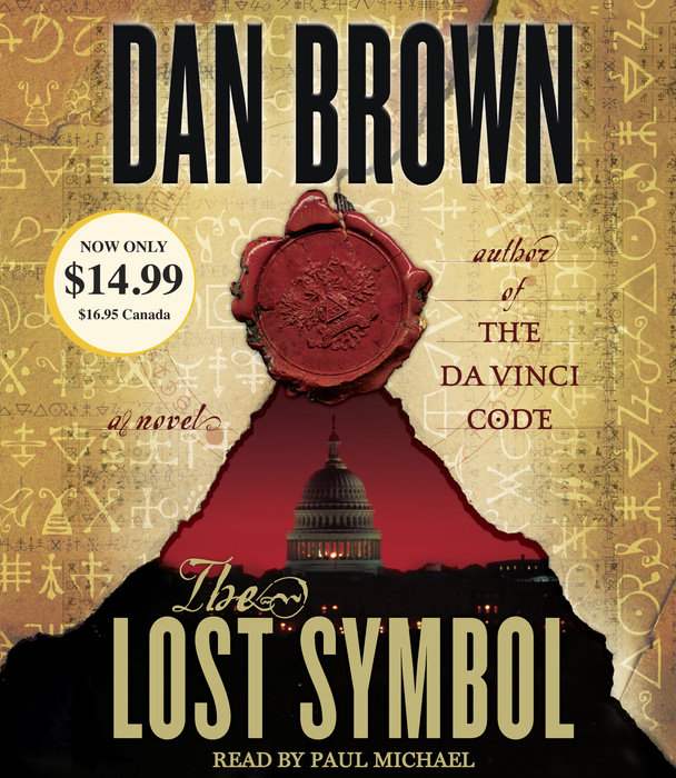 The Lost Symbol By Dan Brown Penguin Random House Audio