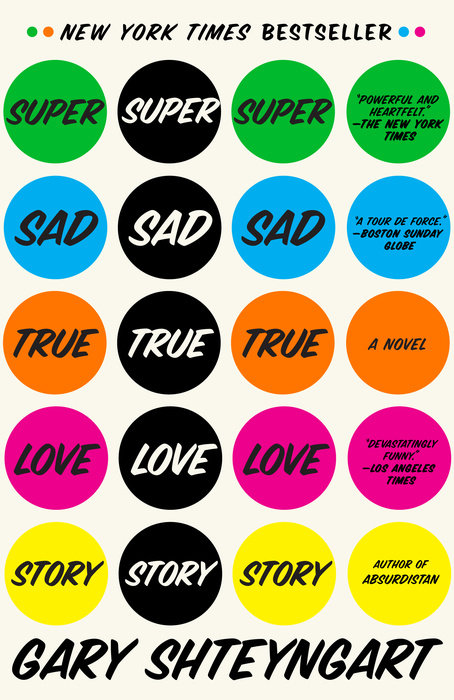 super sad true love story essays Jeffrey brown talks to gary shteyngart, author of super sad true love story.