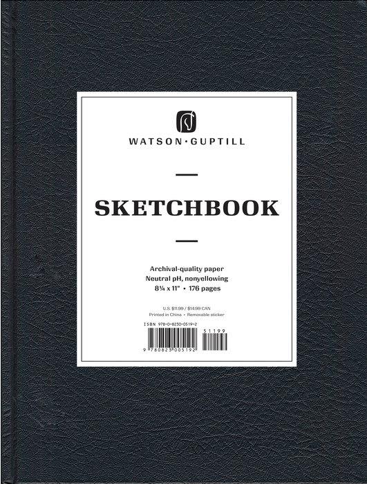 Large Sketchbook (Kivar, Black)