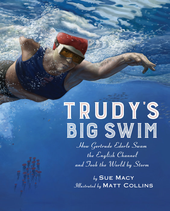Trudy's Big Swim