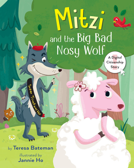 Mitzi and the Big Bad Nosy Wolf