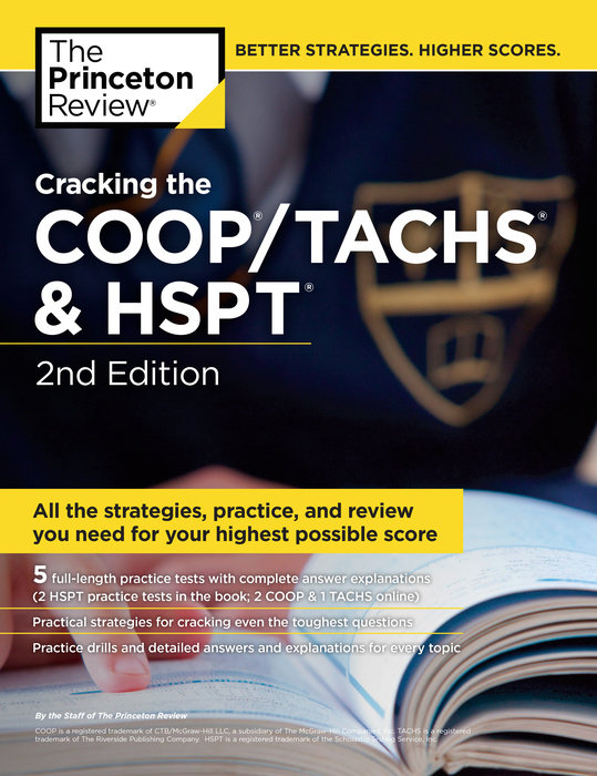 Cracking the COOP/TACHS & HSPT, 2nd Edition