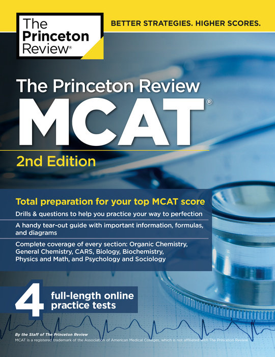 The Princeton Review MCAT, 2nd Edition