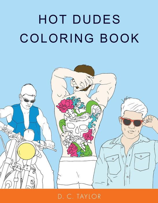 Hot Dudes Coloring Book