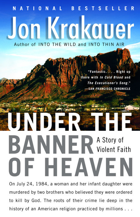 under the banner of heaven book