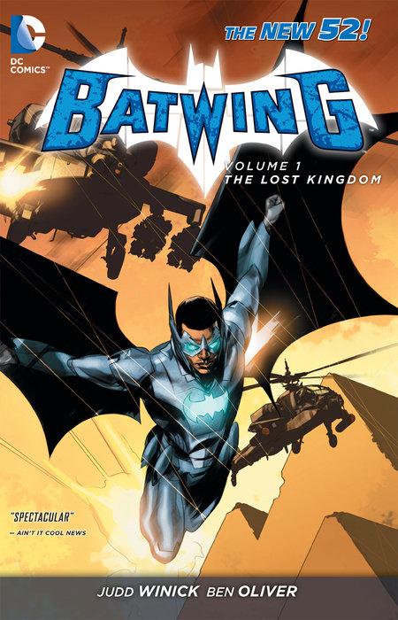 Batwing Vol. 1: The Lost Kingdom (The New 52)
